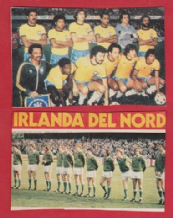 Brazil & Northern Ireland Teams